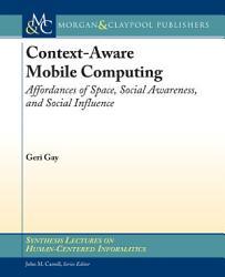 Context Aware Mobile Computing Book PDF