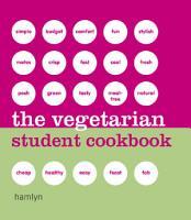 The Vegetarian Student Cookbook PDF