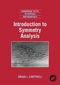 Introduction to Symmetry Analysis Paperback with CD ROM PDF