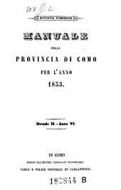 Almanacco Della Provincia Di Como: Volume 10