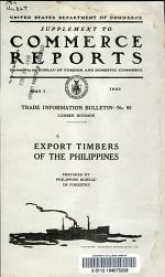 Export Timbers of the Philippines