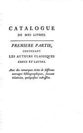 Bibliotheca graeca et latina, complectens Auctores fere omnes Graeciae et Latii veteris etc