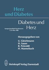 Herz und Diabetes: Diabetes und Herz
