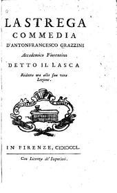 Teatro comico fiorentino: La strega. La sibilla. La pinzochera. L'Arzigogolo. In prosa. Del Lasca