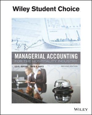 Managerial Accounting for the Hospitality Industry PDF