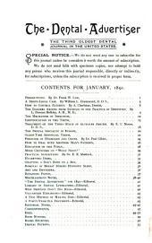 Dental Advertiser: Volumes 22-23