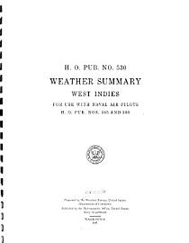 Weather Summary West Indies