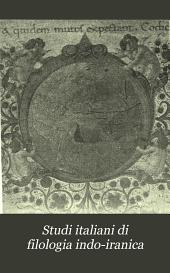 Studi italiani di filologia indo-iranica: Edizione 4
