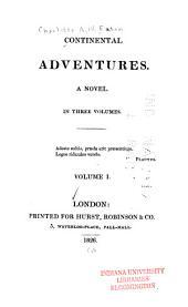 Continental Adventures: A Novel, Volume 1