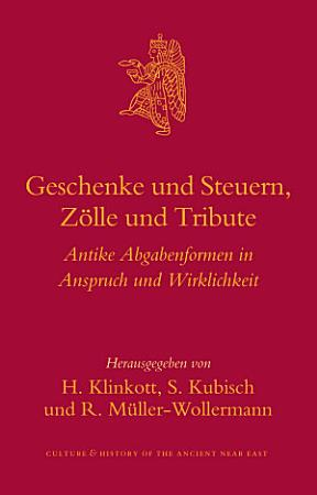Geschenke und Steuern  Z  lle und Tribute PDF