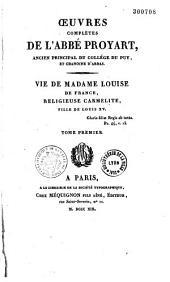 Oeuvres complètes de l'abbé Proyart