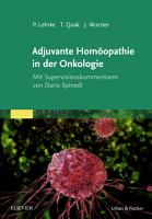 Adjuvante Hom  opathie in Der Onkologie PDF