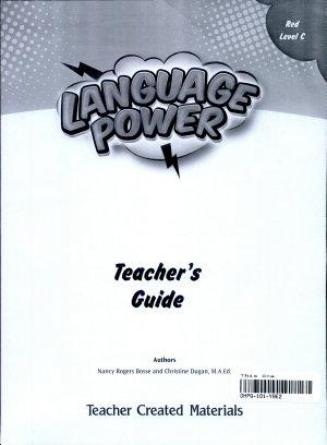 Language Power  Grades 3 5 Level C Teacher s Guide