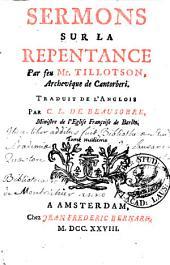 Sermons sur la repentance