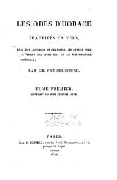 Q. Horatii Flacci carminum libri v. ad fidem xviii mss. parisiensium recensuit: Volume 1