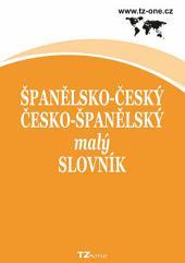 Španělsko-český/ česko-španělský malý slovník