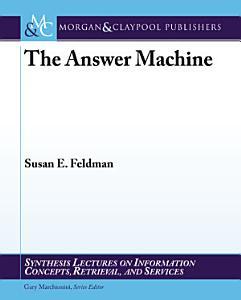 The Answer Machine Book