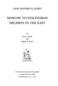 Moscow to Stalingrad PDF