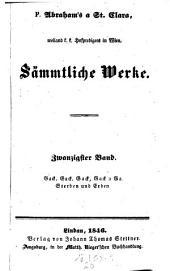 Gack, Gack, Gack, Gack a Ga einer wunderseltsamen Hennen (etc.) Sterben und Erben: 20