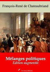 Mélanges politiques: Nouvelle édition augmentée