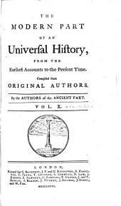An Universal History, from the Earliest Accounts to the Present Time: Volume 28