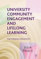 University Community Engagement and Lifelong Learning PDF