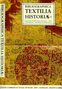 Bibliographica Textilia Historiae
