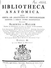 Bibliotheca anatomica: Volume 2