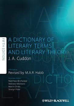 A Dictionary of Literary Terms and Literary Theory PDF