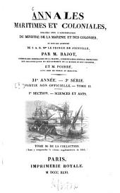 Annales maritimes et coloniales: Volumes31à32
