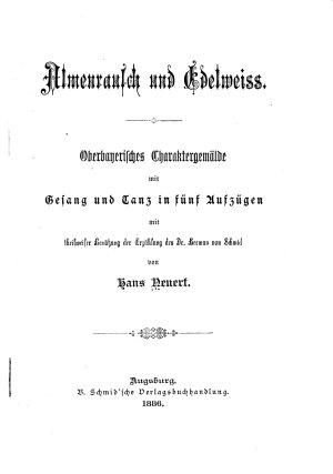 Almenrausch und Edelweiss PDF