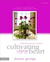 Cultivating a Forgiving Heart PDF