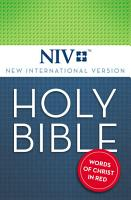 NIV  Holy Bible  eBook  Red Letter PDF
