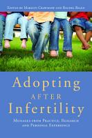 Adopting after Infertility PDF