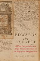 Edwards the Exegete PDF