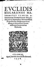 Elementa Geometrica: liber I.