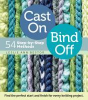 Cast On  Bind Off PDF