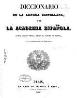 Diccionario de la lengua castellana PDF
