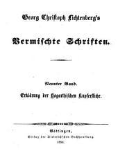 Vermischte Schriften: Ausführliche Erklärung der Hogarthischen Kupferstiche ; 1 - 2 : mit verkleinerten aber vollständigen Copien derselben von E. Riepenhausen, Band 9