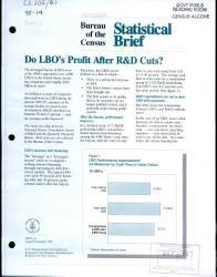 Do Lbo S Profit After R D Cuts  Book PDF