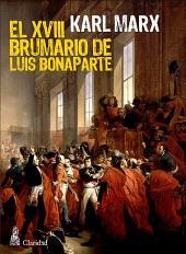 El XVIII Brumario de Luis Bonaparte