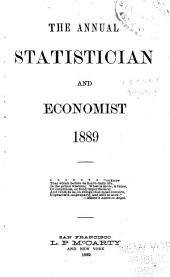 The Annual Statistician and Economist: Volume 13, Part 1889
