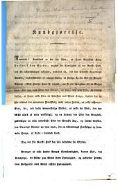 Kundgjørelse. Begin. Normænd! Kundbart det for Eder, etc. [A proclamation inciting the Norwegians to resist the Swedish invasion, dated Feb. 19, 1814.]