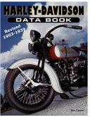 Harley-davidson Data Book Revised 1903-1939