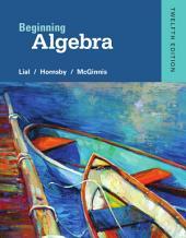Beginning Algebra: Edition 12