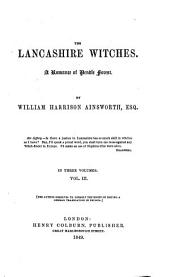 The Lancashire Witches: A Romance of Pendle Forest