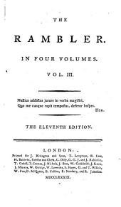 ¬The Rambler0: Volume 3