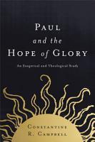 Paul and the Hope of Glory PDF