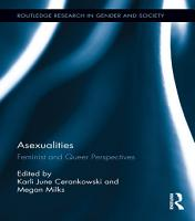 Asexualities PDF