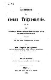Lehrbuch der ebenen Trigonometrie0